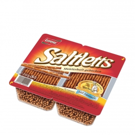 Galletas saladas sticks Lorenz 250 g.