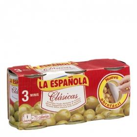Aceitunas verdes manzanilla rellenas de anchoa Clásicas