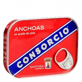 Anchoa aceite de oliva Consorcio 78 g.