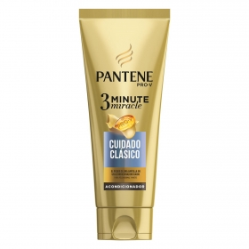 Acondicionador 3 minutos cuidado clásico Pantene 200 ml.