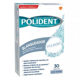 Tabletas limpiadoras para prótesis dentales blanqueantes