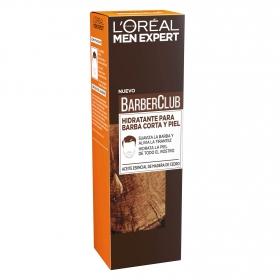Hidratante para barba corta y piel BarberClub L'Oréal-Men Expert 50 ml.