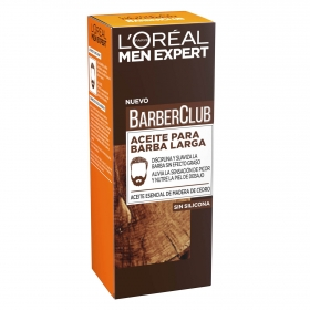 Aceite para barba larga BarbaClub L'Oréal Men Expert 30 ml.