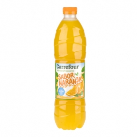 Refresco de naranja sin gas