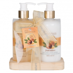 Set de baño con gel 298 ml. + body lotion 298 ml.