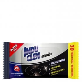Toallitas limpieza inducción Indu Clen 30 ud.