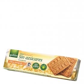 Galletas de fibra sin azúcar Diet Nature Gullón 150 g.