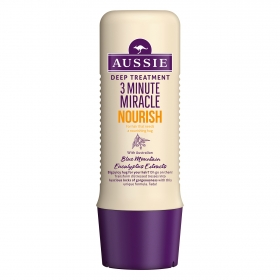 Acondicionador 3 Minute Miracle Nourish Aussie 250 ml.