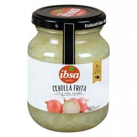 Cebolla frita en aceite de oliva