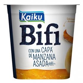 Yogur Bifidus con manzana asada