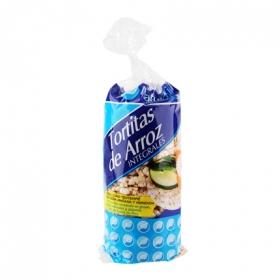 Tortitas de arroz integrales Naturtierra 130 g.