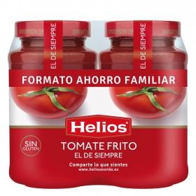 Tomate frito Helios sin gluten pack de 2 tarros de 570 g.