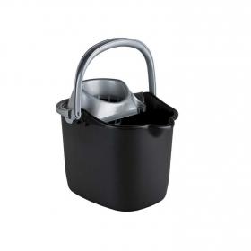 Cubo  de fregar de Plástico Curver  15 Litros - Negro