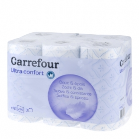 Papel higiénico 3 capas