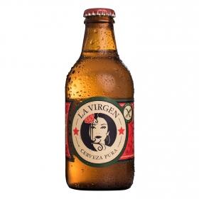 Cerveza La Virgen sin gluten botella 25 cl.