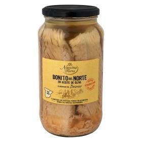 Bonito del Norte en aceite de oliva - De Nuestra Tierra 600 g.