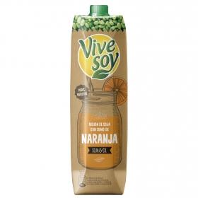 Bebida de soja con zumo de naranja ViveSoy brik 1 l.