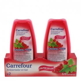 Ambientador absorbeolores en gel frutos rojos