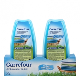 Ambientador absorbeolores en gel ropa limpia
