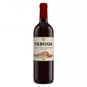 Vino tinto tempranillo ecológico Taboga 75 cl.