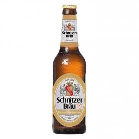 Cerveza Schnitzer Braü sin gluten botella 33 cl.
