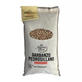 Garbanzo pedrosillano categoría extra De Nuestra Tierra 1 kg.