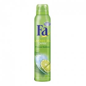 Desodorante en spray Limones del Caribe Fa 200 ml.