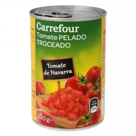 Tomate de Navarra pelado troceado