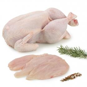 Pechuga de Pollo Fileteada Entera Carrefour 1 kg aprox
