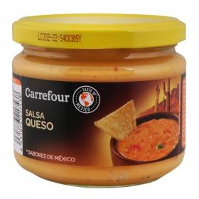 Salsa queso Carrefour tarro 300 g.