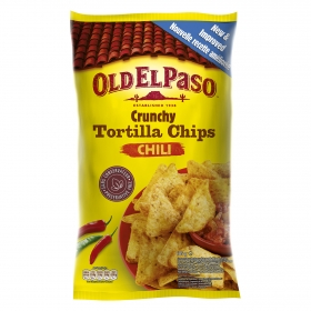 Tortilla chips con chili