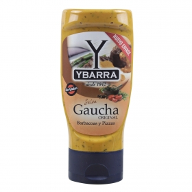 Salsa gaucha Ybarra sin gluten envase 300 ml.