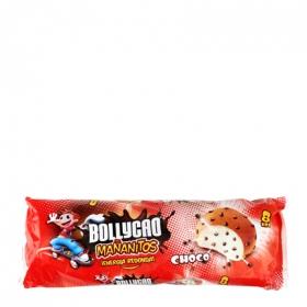 Bollo con pepitas de chocolate Mañanitos Bollycao 8 ud.