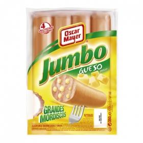 Salchichas Jumbo de queso