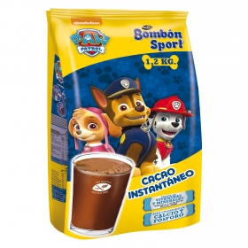 Cacao soluble instantáneo Paw Patrol Lacasa 1,2 kg.