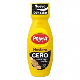 Mostaza cero Prima sin gluten envase 325 g.