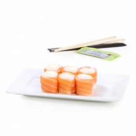 Roll'in salmón cheese Sushi Daily 6 pzas.