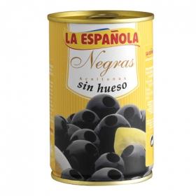 Aceitunas negras sin hueso