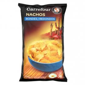 Nachos redondos Carrefour 200 g.