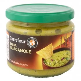 Salsa guacamole Carrefour tarro 290 g.