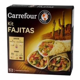 Fajita Dinner Kit Carrefour 525 g.