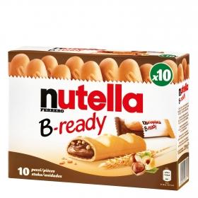 Barritas B-ready Nutella 10 unidades de 22 g
