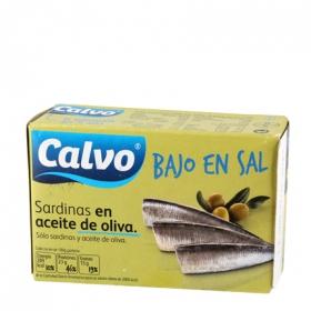 Sardinas en aceite de oliva ''bajo en sal''