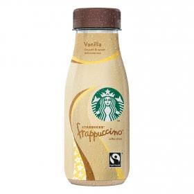 Café frappuccino de vainilla Starbucks 250 ml.