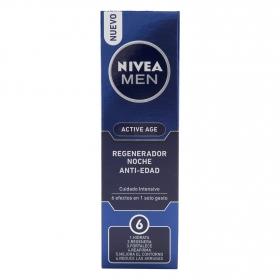 Regenerador noche Active Age anti-edad Nivea 50 ml.
