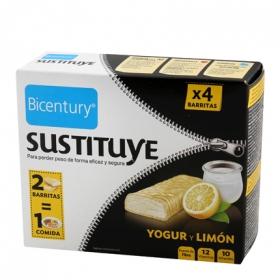 Barritas de yogur y limón Bicentury 210 g. 210 g.