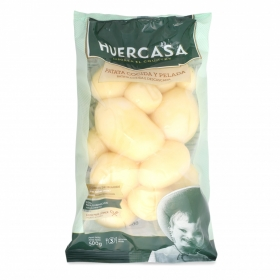 Patata pelada cocida esterilizada Huercasa 500 g
