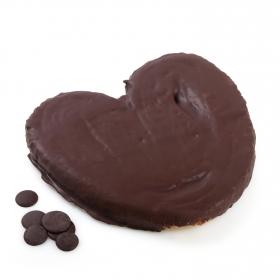 Palmerón de hojaldre de chocolate XXL Carrefour 400 g