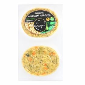 Hamburguesa de Quinoa y Brocoli 100% Vegetal Burguesana Suquipá (2x90g) 180 g