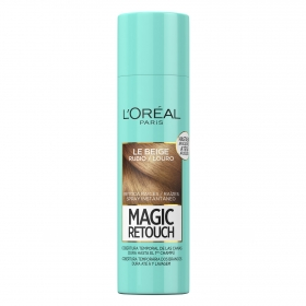 Tinte retoca raíces spray instantáneo rubio L'Oréal Magic Retouch 150 ml.